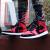 ナイキナイキ男子靴Air Jordan 1 AJ 1黒はヴィンテージカジュアルを禁じています。実戦ではバスケットボールシューズを粉砕します。