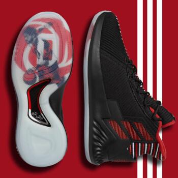 adidas Adi DA男靴2019春新型運動靴は実戦的に緩衝して耐摩耗性があって、保温性があります。カジュアルで、バスケットボールシューズDA9847 EE 6846/ロス9-GEEK UP 43を手伝います。