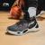 李寧のオフィシャル旗艦店の中で男子バスケットボールの専門の試合靴の戦隼を手伝って減震して弾の中で運動靴のABAN 037標準の黒/標準白の42を返します。
