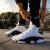 ナイキNIKE Air Jordan 13 OG Chicago AJ 13シカゴ18年黒と白のパンダのバスケットシューズ888164-12(愛と黒を尊重する)42