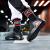 ヨルタンカジュアルシューズ男性靴ヨルダンバスケットボールシューズ男性公式規格品2019春新作皮面保温クラシックカジュアルシューズX M 580312黒/オーロラレッド42