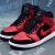 ナイキ男子靴2019春新型AIR JORDAN AJ 1バスケットボールシューズ554724-061 554724-054禁穿/黒紅41