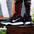 ナイキナイキ男子靴2019夏の新型運動靴は、実戦的に緩震耐摩耗性シューズカジュアルバスケットボールシューズAO 4438-002 AO 8980-003欧文4代黒銀44