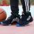 ディディダス男子靴2020春新型スニーカーHarden Vol.4 GCAハーデン4戦靴実戦バスケットボールシューズEF 204/Harden Vol.4黒銀41