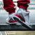 ナイキナキ男カップルモデルAIR JORDAN 3 AJ 3限定ホワイトシルバーバースト柄ハリケーン手書きフックバスケットボール靴136064-38614-116ハリケーンバースト纹40女