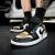 【潮】ナイキナイキAir Jordan 1 LOW aj 1男女の黒の足の指が低いカジュアルバスケットボールシューズCQ 9487/CQ 9447-700(黒の足の指)40(男性)